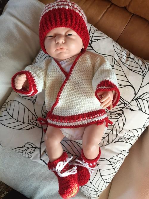 brassiere crochet tunisien naissance
